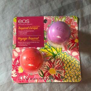 🍬3 for $15🍬 EOS tropical escape lip balm pack